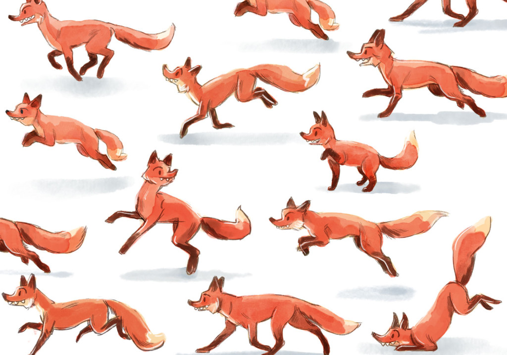 Foxes by Laura Terry