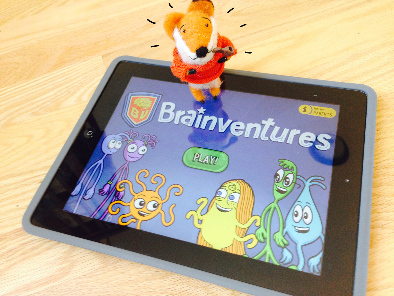 Brinventures App by Kizzom illustrated by Laura Terry