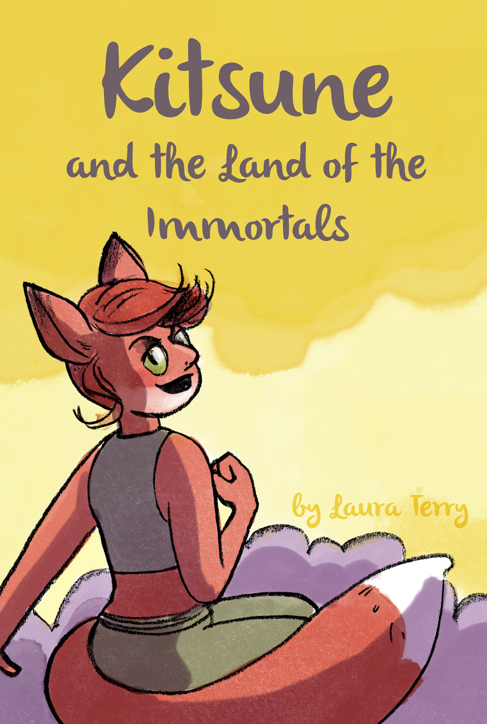 Kitsune and the land of the Immortals by Laura Terry
