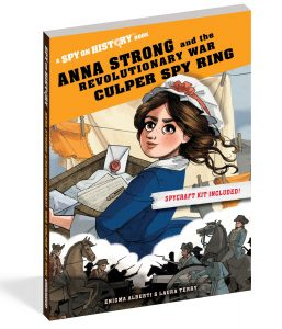 Anna Strong, Spy on History